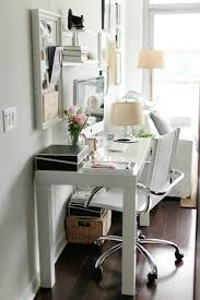 West Elm Office Desk Get The Look A Small Minimalist Home Office
