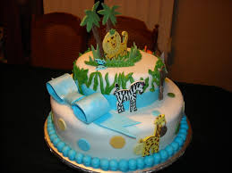 jungle baby shower cakes teresa s cakes baby shower cakes