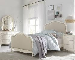 Upholstered Twin Beds Victoria Panel Twin Bed With Upholstered Tea Stain Woven Fabric By