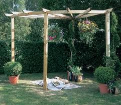 forest radial pergola gardensite co uk