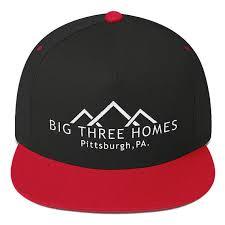 three homes big three homes pittsburgh pa hat flat bill cap