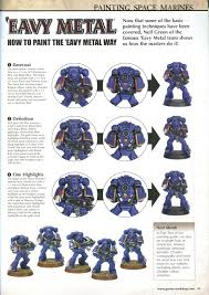 til that ultramarine blue is not how ultramarines are painted