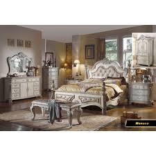 Meridian Bedroom Furniture by Meridian Furniture Usa Monaco Panel Customizable Bedroom Set