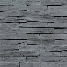Pierre De Parement Grise by Reconstructed Stone Wall Tiles Murok Strato By Weser