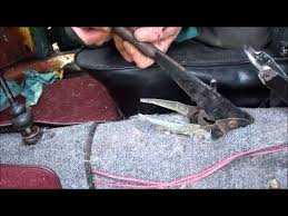vw parking brake handle fix youtube