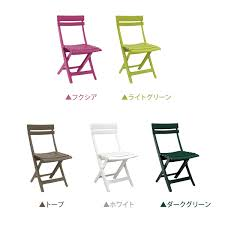 grosfillex sigma collapsible folding table yamayuu rakuten global market takashi garden table 5 piece set