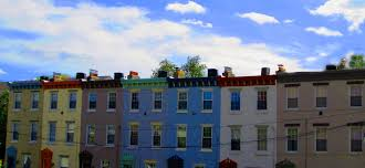 row homes row homes in colorful philly row homes off south street on home
