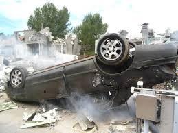 a police officer came upon a terrible car crash