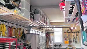 Small Wall Shelf Plans by Small And Narrow Garage Organization Ideas Using Custom Diy Wood