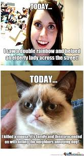 Annoyed Girl Meme - grumpy cat and annoying girl by jacob a bellamy 1 meme center