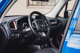 jeep renegade blue interior review 2015 jeep renegade trailhawk canadian auto review
