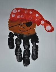 handprint pirate craft from http sunglassesonmyhead blogspot com