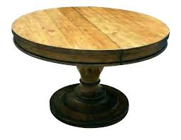 Distressed Pedestal Dining Table Beautiful Distressed Pedestal Dining Table Decor Weathered
