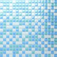crystal glass tile shower wall stickers swimming pool b049