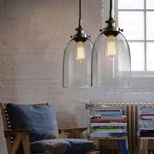 Vintage Pendant Light Bell Glass Industrial Vintage Pendant Light Edison Loft Chandelier