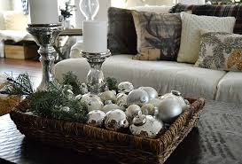 Coffee Table Decorations Christmas Coffee Table Decorations 10423