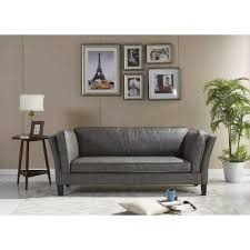 home decorators gordon sofa brown sofas u0026 loveseats living room furniture the home depot