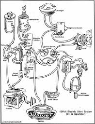 harley davidson xlh sportster 1974 electric diagram motorcycle