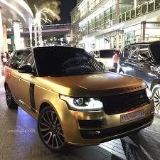 gold range rover 2017 gold range rover madwhips