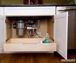 Cabinet For Kitchen Sink Housetweaking Alluring Kitchen Sink Drawer Home Design Ideas