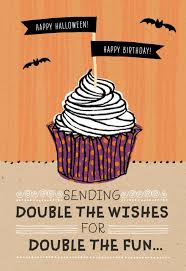 halloween birthday cupcake halloween card greeting cards hallmark