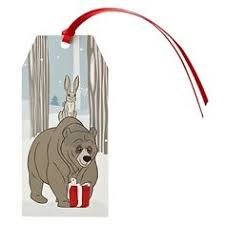 hare has left bear a special christmas gift johnlewis