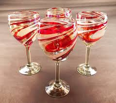 peppermint christmas wine glasses christmas wikii