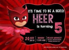 princessheer turns 5 owlette pj masks birthday party