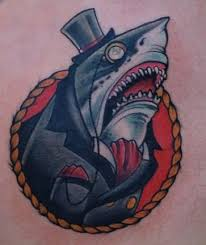 7 shark tattoos that will leave your