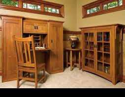 mission style home office furniture by schrocks of walnut creek