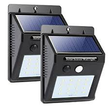 16 led solar lights wireless outdoor light with
