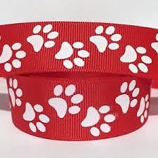 paw print ribbon paw print ribbon ebay