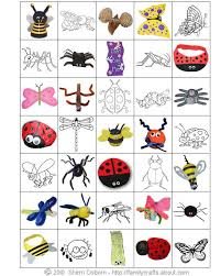 12 photos printable insect cards bug bingo printable