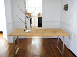 U Shaped Table Legs A Diy Dining Table For Less Than 125 Care2 Healthy Living
