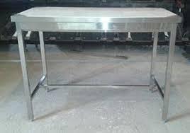 table de cuisine inox table cuisine centrale inox standard matériel de cuisine professionnel