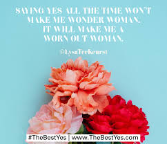 for bloggers the best yes by lysa terkeurst