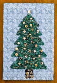 tinsel tuesday diy button christmas tree wall art crafts u0027n coffee
