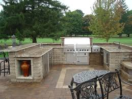 patio grill would this outdoor paver patio with built in grill i will