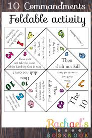 the 25 best 10 commandments kids ideas on pinterest ten