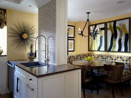 Stone Backsplash Ideas For Kitchen Travertine Backsplashes Hgtv