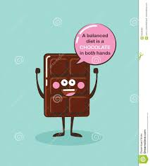 chocolate emoji funny chocolate bar character with insparation quote cartoon face