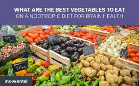what are the best vegetables to eat on a nootropic diet for brain