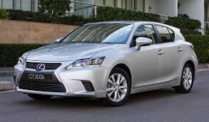 lexus ct200 white lexus softens stance on non hybrid ct and plug in hybrids