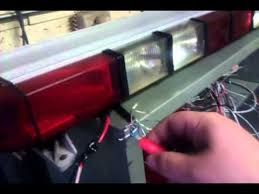 whelen ultra edge 9000 light bar youtube