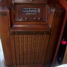Philco Record Player Cabinet 1941 Philco Console Radio U0026 Turntable Collectors Weekly