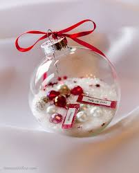 ornament diy gift that is a gorgeous personalized keepsake