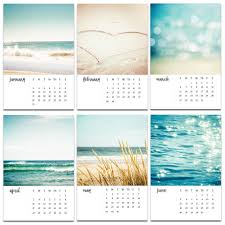 2017 calendar nautical decor beach photography calendar 2017