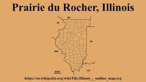 Illinois Blank Map by Prairie Du Rocher Illinois Youtube