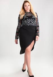 frock and frill curve zeta cocktail dress party black women