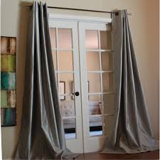 bedroom french door and curtain rods with 96 inch curtains also